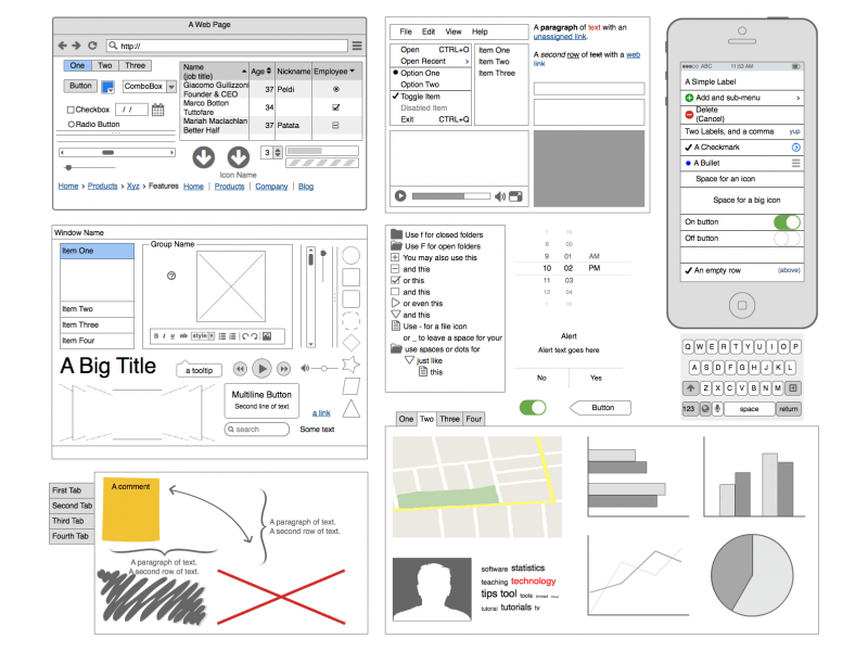 [تصویر: balsamiq-all-controls-wireframe.png]
